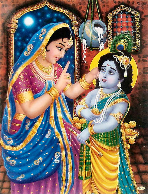 adintretab: wallpaper of krishna yashoda