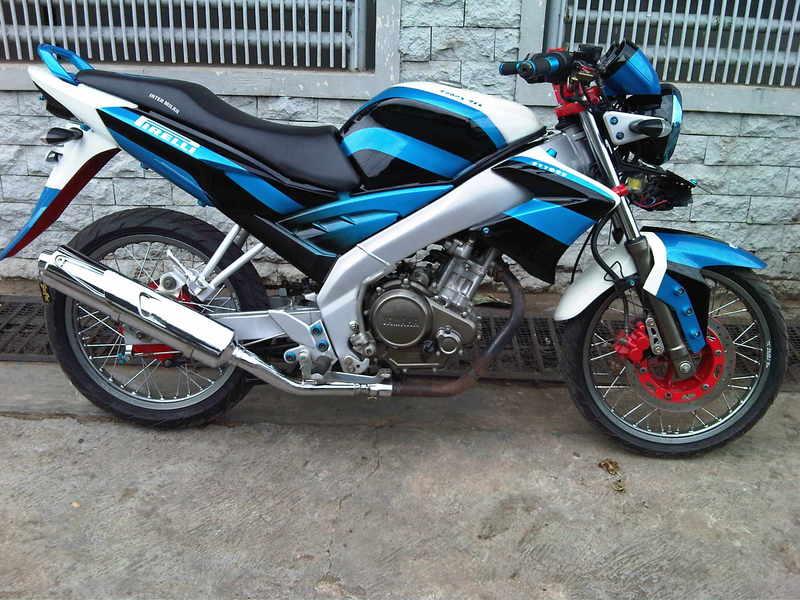 Modif Yamaha Vixion R125