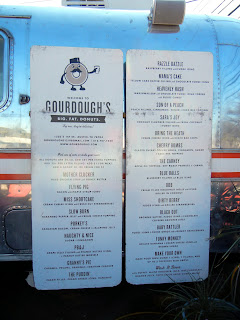 Gourdough's gourmet doughnut food truck on South First