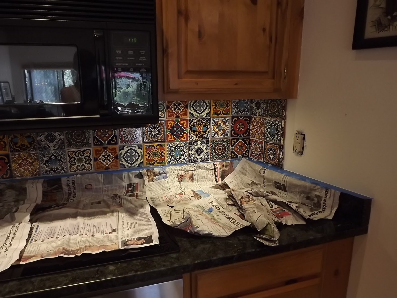 Dusty coyote mexican tile kitchen backsplash diy solutioingenieria Images