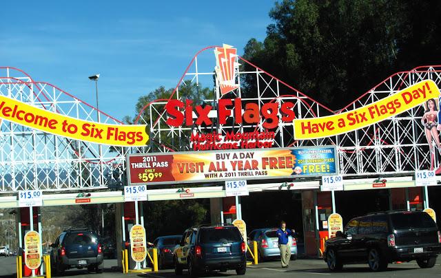 Six Flags Magic Mountain da Califórnia