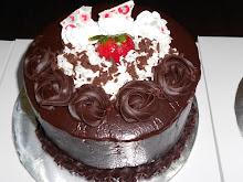 Kek Coklat Banana