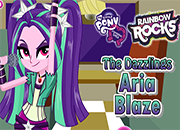 Equestria Girls The Dazzlings Aria Blaze