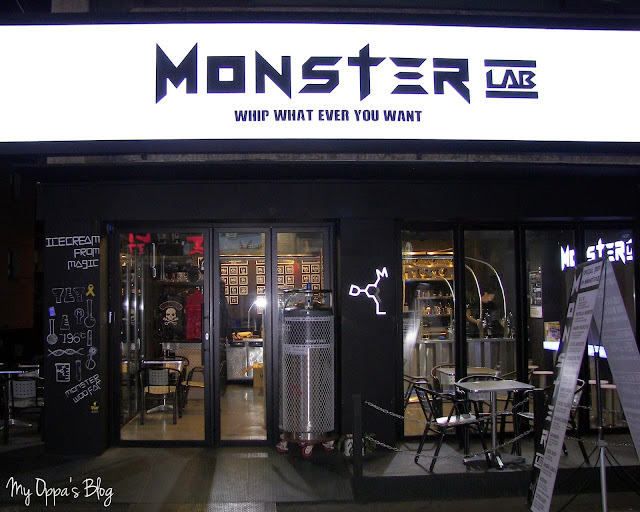 Monster Lab, czyli w oparach ciekłego azotu.