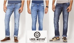 Locomotive Quality Denim @ Cheapest Price: Flat 40% + Flat 32% Off on Men's Jeans (Hurry!! Discount on Base Price may decrease) Deal Price starts Rs.532