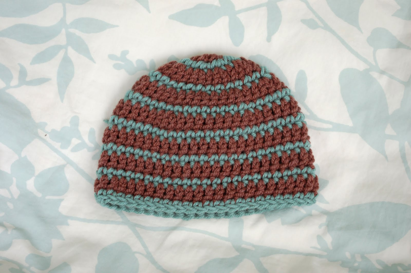 Alli Crafts: Free Pattern: Thick and Thin Striped Beanie ...