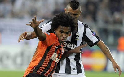 Cuplikan Video Gol Juventus vs Shakhtar Donetsk