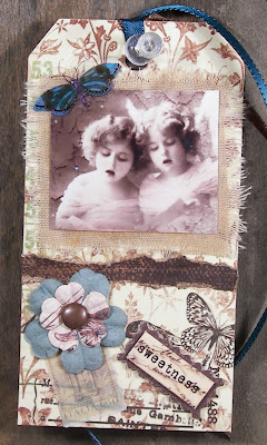 Sweetness Altered Art Tag