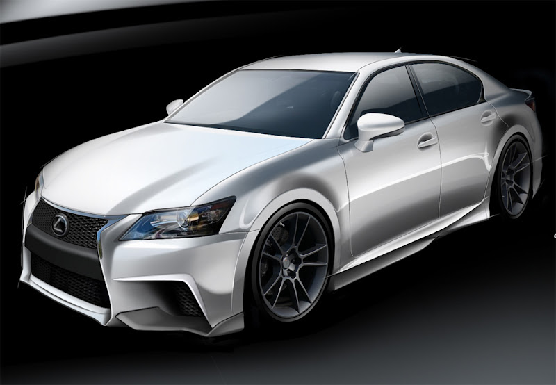 2011  Lexus GS by Five Axis