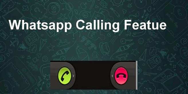 how to active voice calling feature in whatsapp