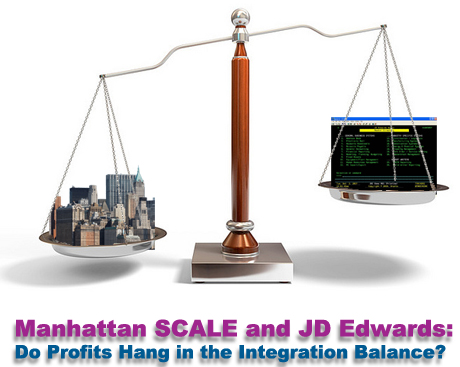 Manhattan SCALE and JD Edwards (JDE) Integration