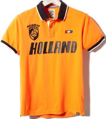 polo Holanda Pull & Bear Eurocopa 2012
