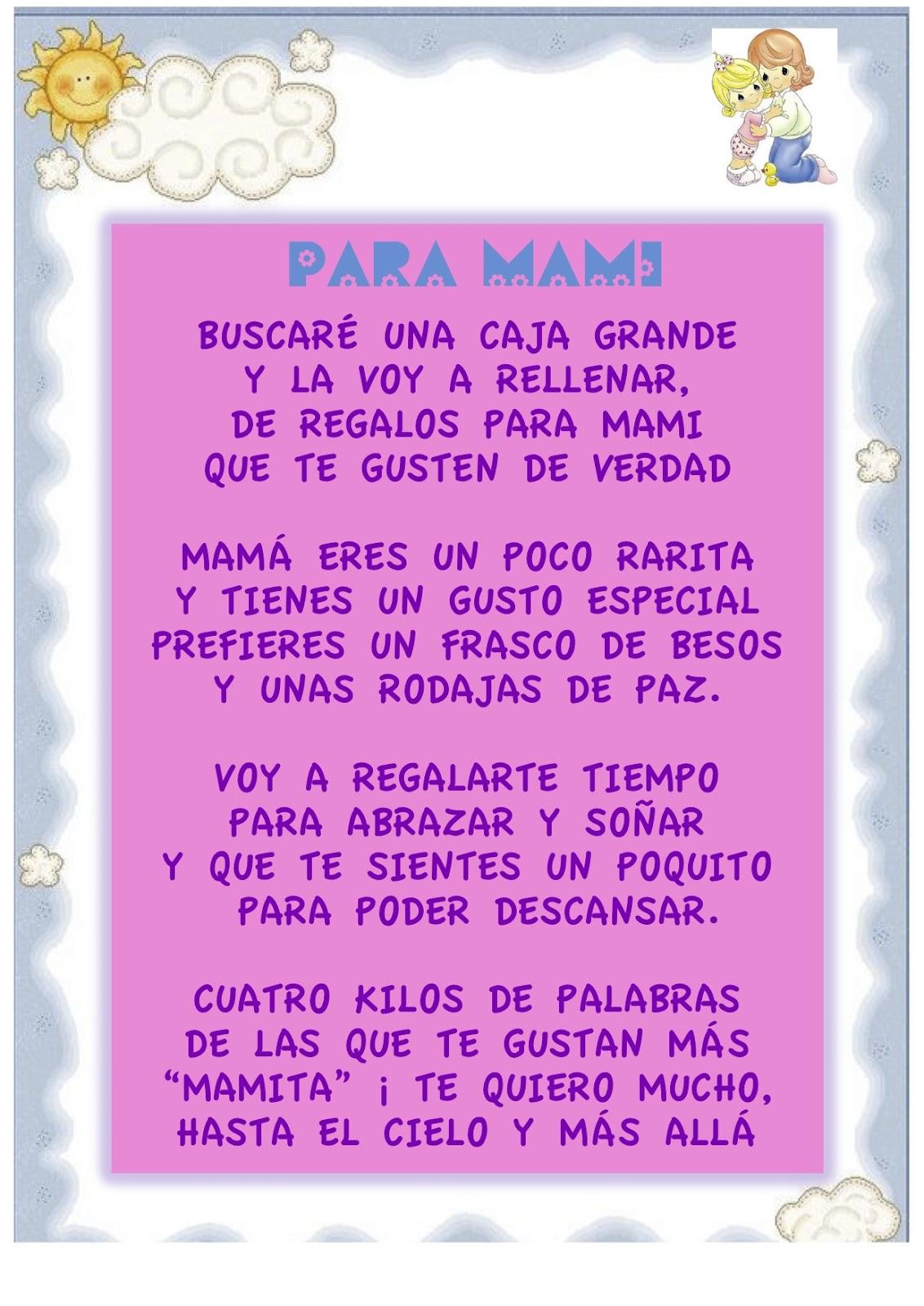 Poemas De Cumpleanos Para Mama