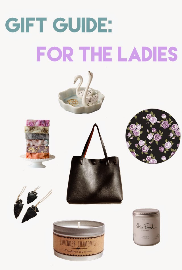 Gift Guide: For the Ladies | Bubbles and Gold
