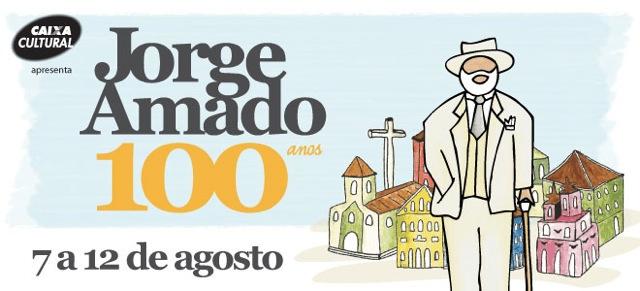 Mostra 100 anos Jorge Amado