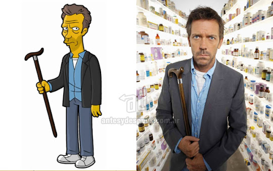 Dr House simpsons artis+kartun Tokoh tokoh selebriti dalam serial kartun The Simpson