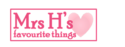 Mrs H's favourite things