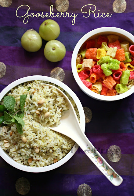 Amla mixed rice