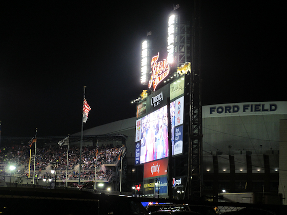 Detroit World Series 2012 Comerica Park and Ford Field