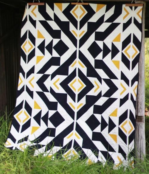 Bravo Indigo Quilt - Free Pattern