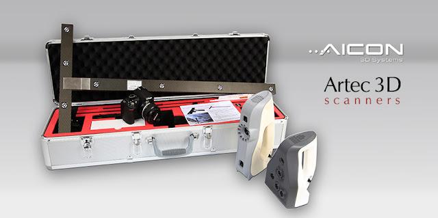El equipo de fotogrametría aumenta las posibilidades de su escáner 3d EVA