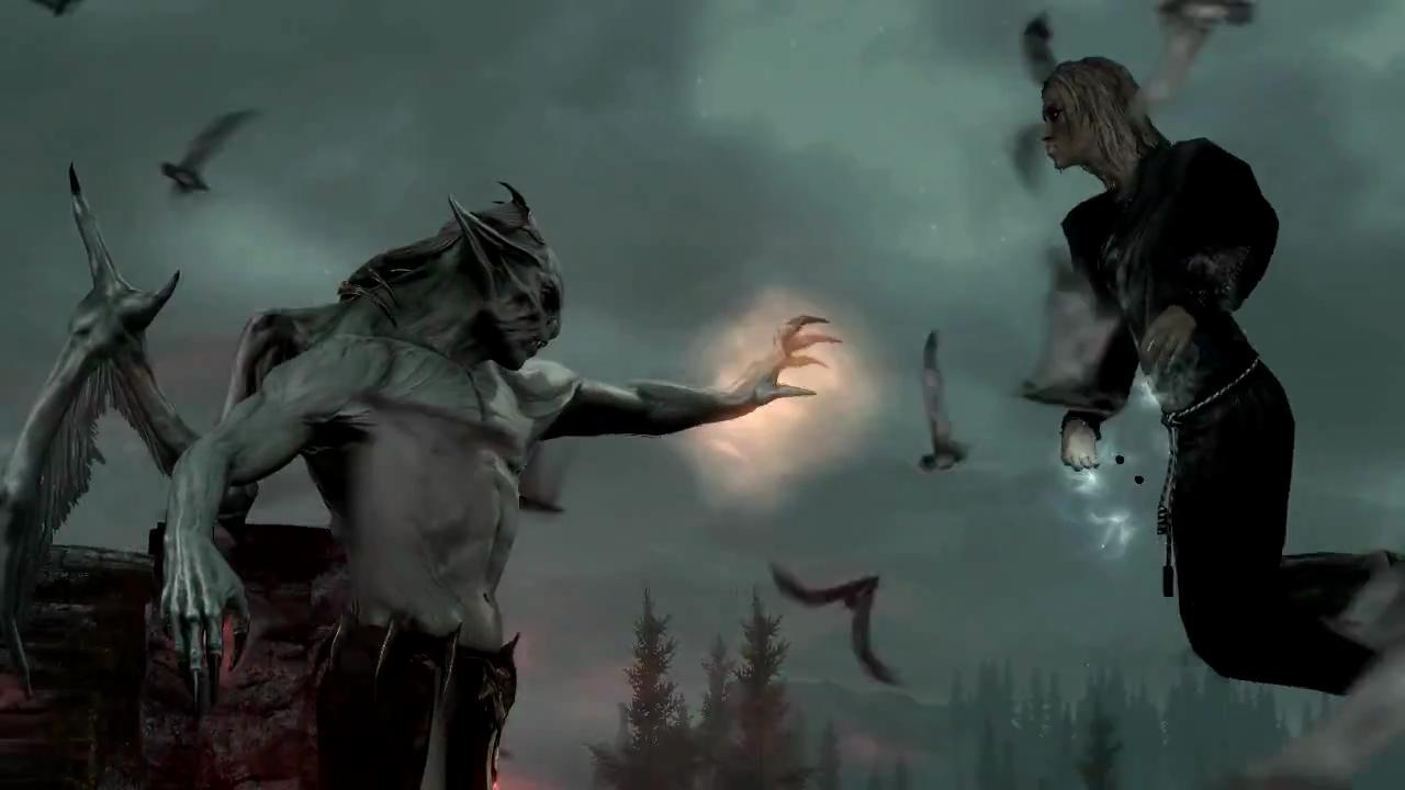 1 Life Left: Review: The Elder Scrolls V: Skyrim--Dawnguard