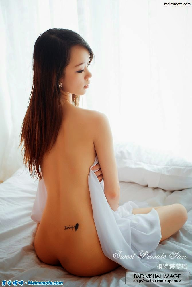 Chen Mengyao without fear of crime seductive topless photo