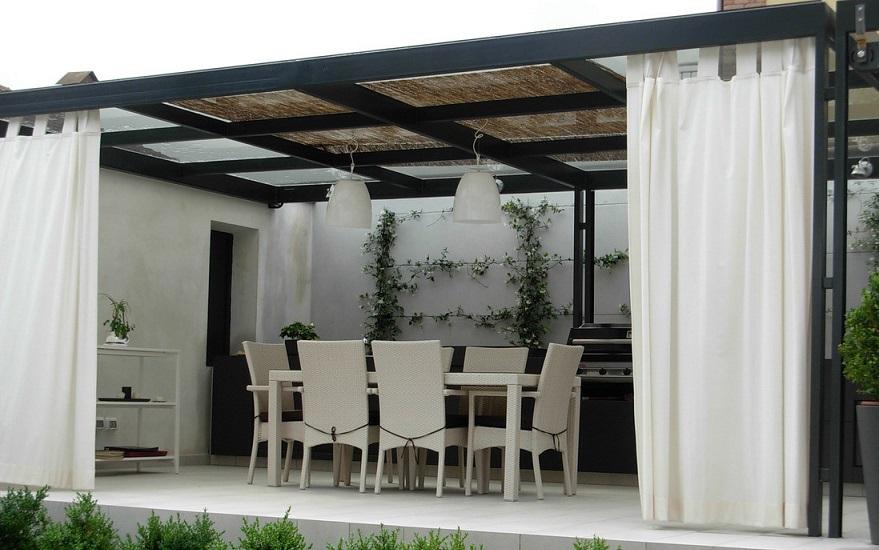 Ideas para cubrir una terraza colores en casa - Estructuras para terrazas ...