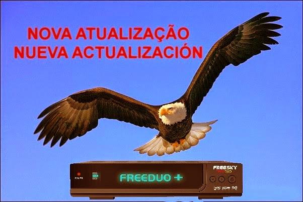 ATUALIZAÇÃO FREESKY FREEDUO+ PLUS - V1.98 - 15/04/2015