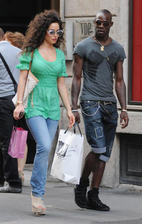 Mario Balotelli Girlfriend 2014