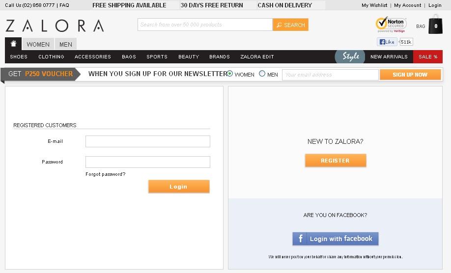 how to delete zalora account