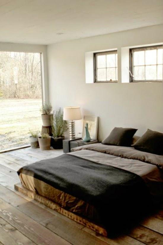 dormitorio rustico vintage