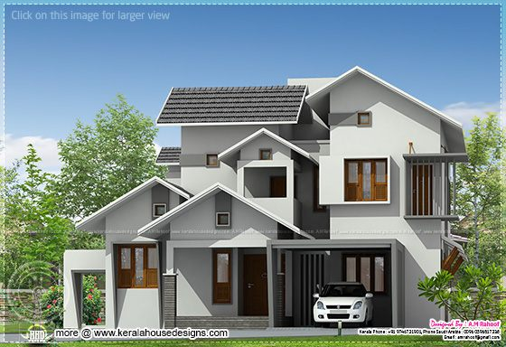 2600 square feet Kerala home