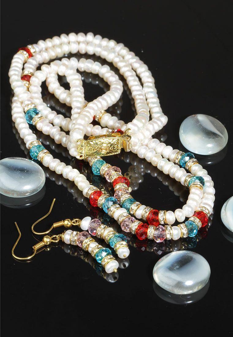 Pearl Set Jewellery