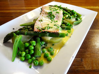 Pacific Salmon & Spring Vegetables