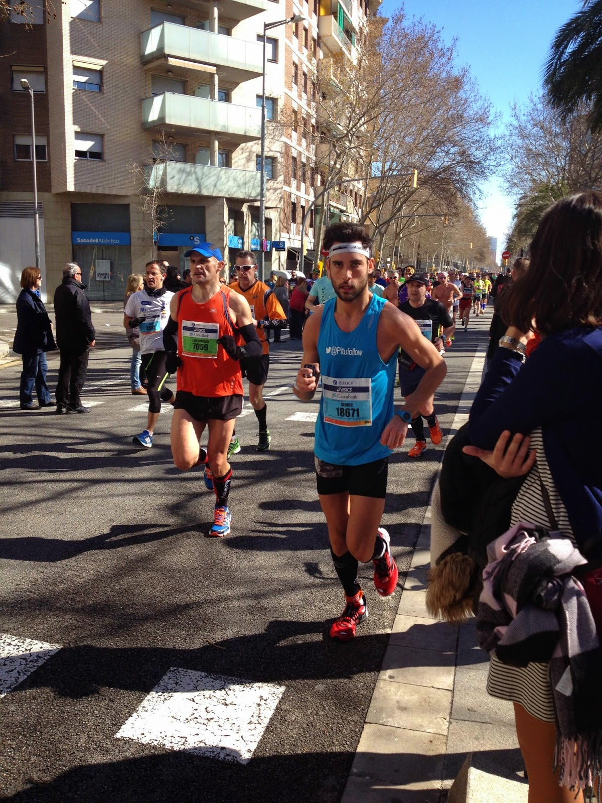 zurich marato barcelona 2015 corredor running