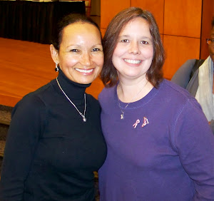 Me and Dr. Lisa Newman