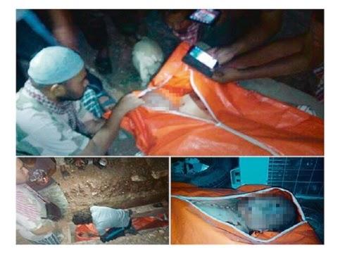 Azan iringi pengebumian jenazah Mohd Lotfi