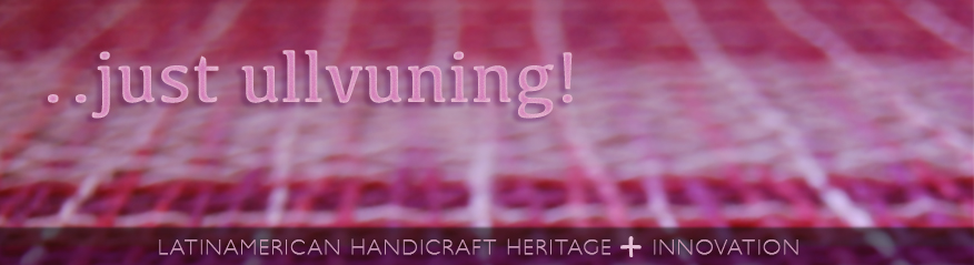 ullvuning, handicraft heritage plus innovation