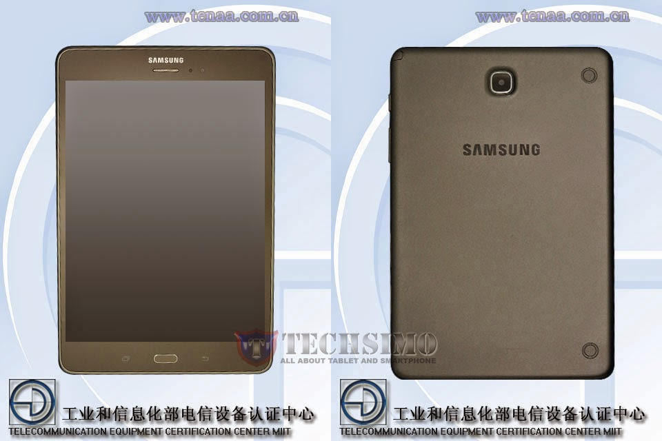 Samsung SM-P355C dan SM-T355C muncul disitus sertifikasi Tenaa, dengan rasio layar 4:3