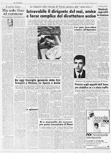 LA STAMPA 10 OTTOBRE 1972