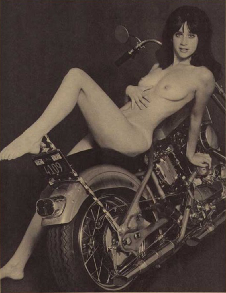 topless hot babes on motorcycles
