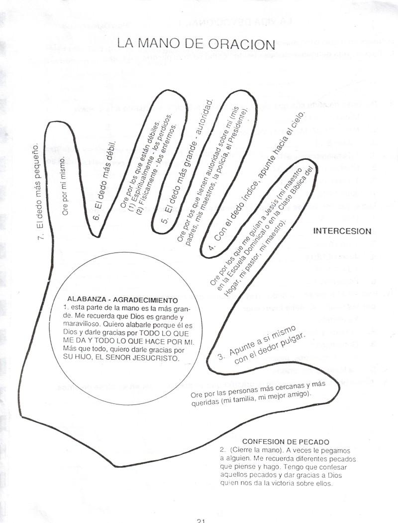 Material: Tus manos y las manos de los niños