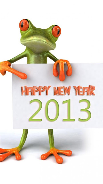 free new year 2013 iphone5 wallpaper 01