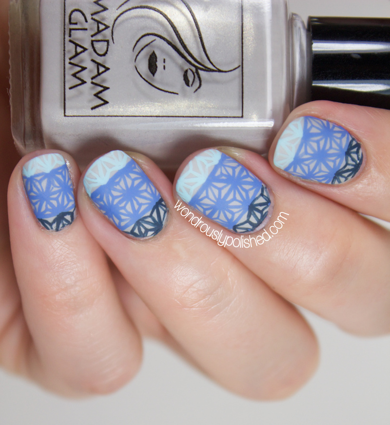 Wondrously Polished 31 Day Nail Art Challenge: Wondrously Polished: 31 Day Challenge 2.0, Day 6