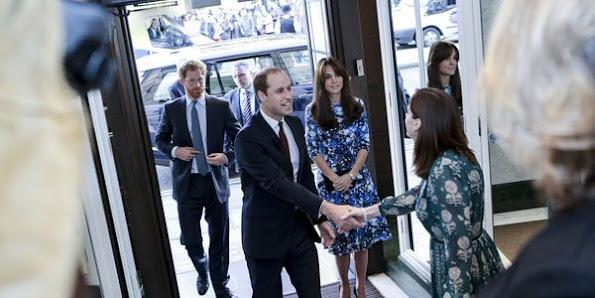 Catherine, Duchess of Cambridge, Prince William, Duke of Cambridge and Prince Harry