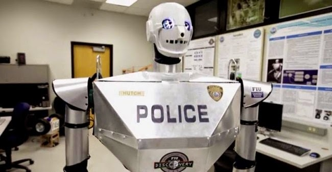 As Early as 2016, Robot Cops Will Be Patrolling Your Streets