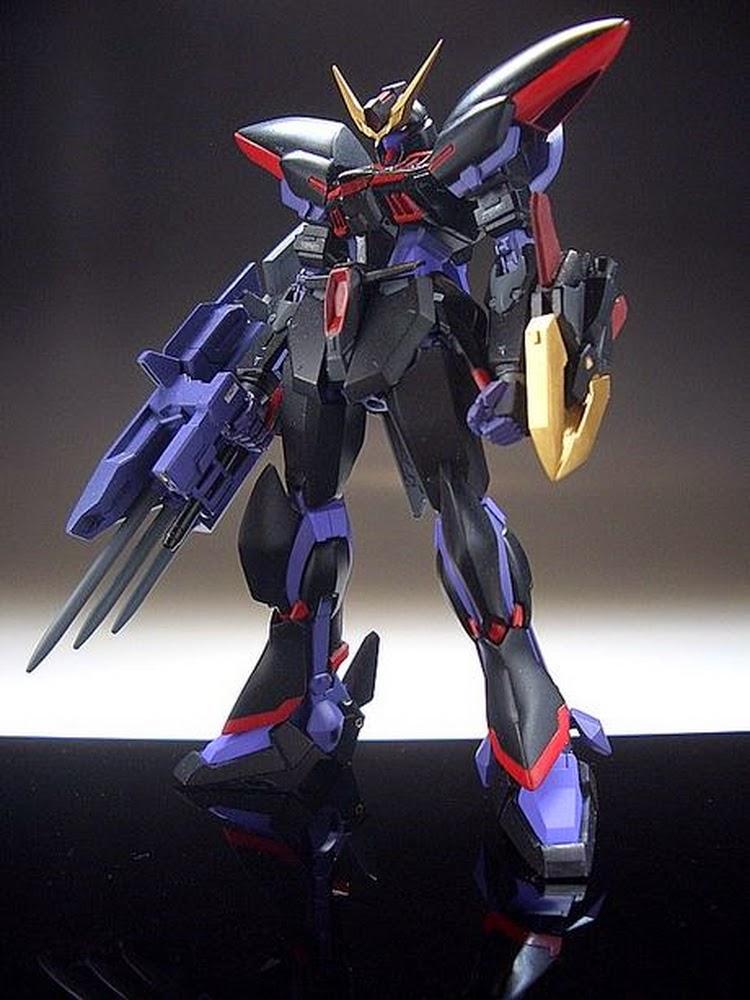 Custom Build Hg 1 144 Gat X207 Blitz Gundam Quot Improved