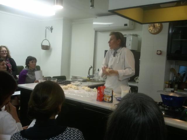 Mono de trigo segunda sesi n de curso de cocina sin for Cursos de cocina barcelona