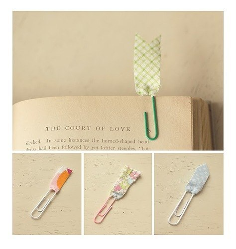 The best crafts from pinterest bookmarks for books for Simple bookmarks